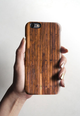 Wood grain iPhone 7 case, iPhone 7 Plus case S003 - Decouart - 1