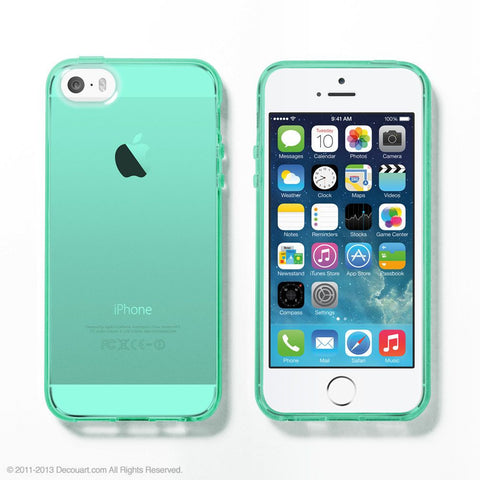 Mint Soft Clear iPhone 6 / 5s case - Decouart