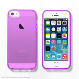 Purple Soft Clear iPhone 6 / 5s case - Decouart - 1