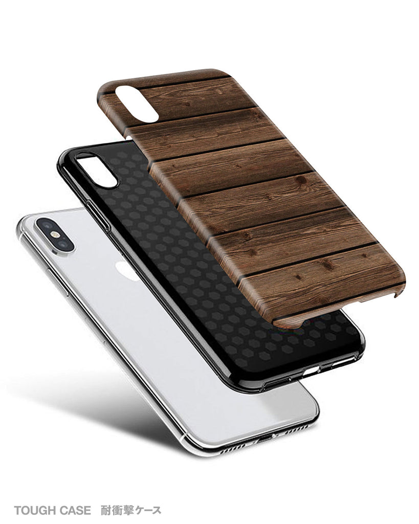 Grunge wood iPhone 11 case S004 - Decouart