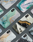 Test marble iPhone tough case - Decouart