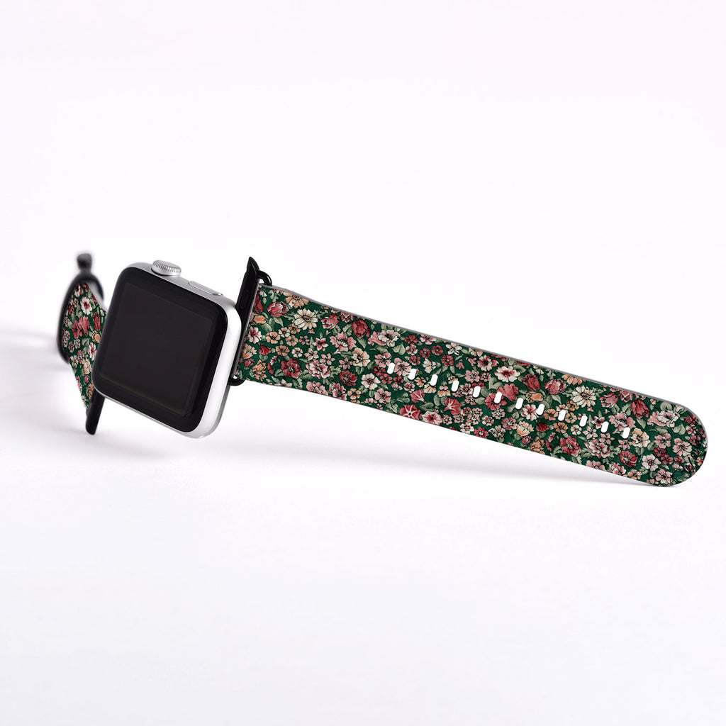 Floral Designer Apple watch band S007