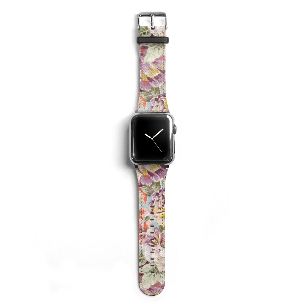 Floral Designer Apple watch band S008