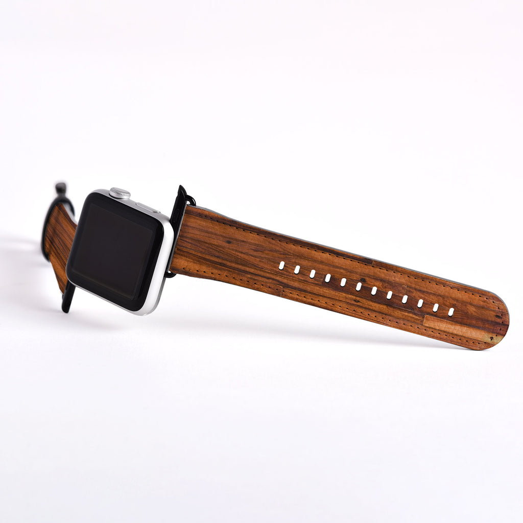 Wooden Designer Apple watch band (NOT real wood) S014