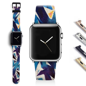 Abstract Designer Apple watch band S017