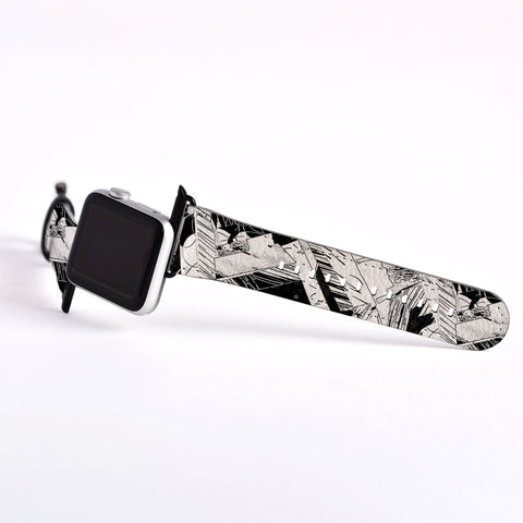 Abstract Apple watch band, Decouart Apple watch strap S020 - Decouart