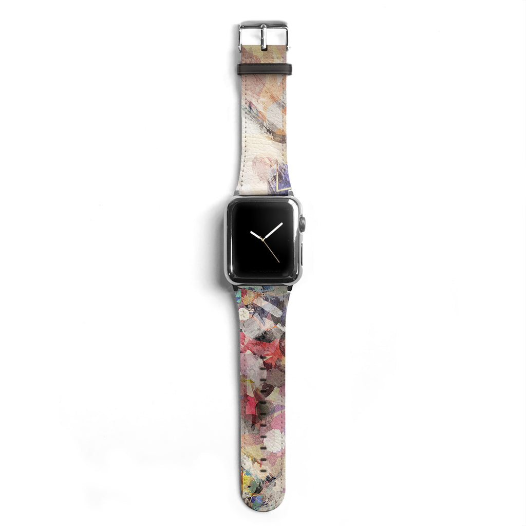 Abstract Designer Apple watch band S022 - Decouart