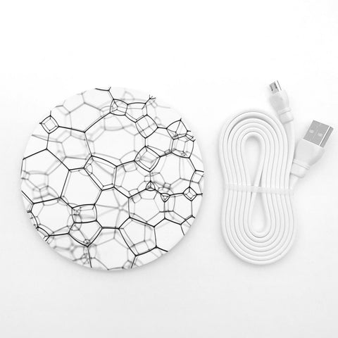 Geometric lines wireless charger - Decouart
