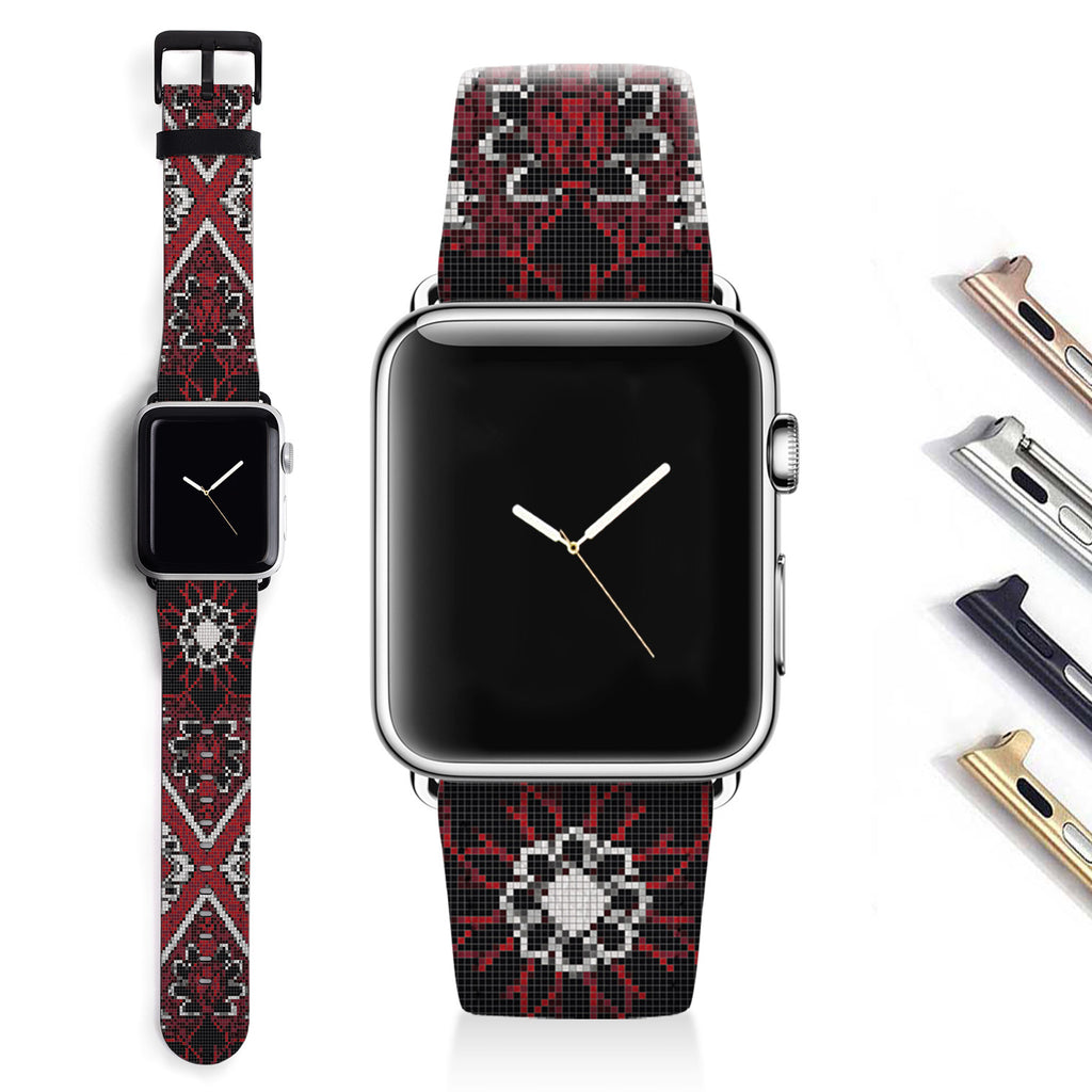 Floral Designer Apple watch band S027