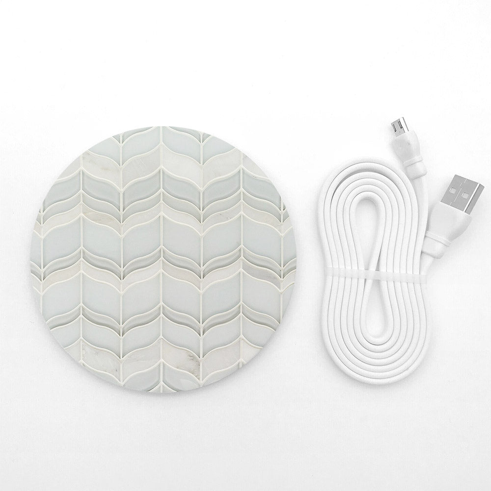 Vintage design pattern wireless charger - Decouart