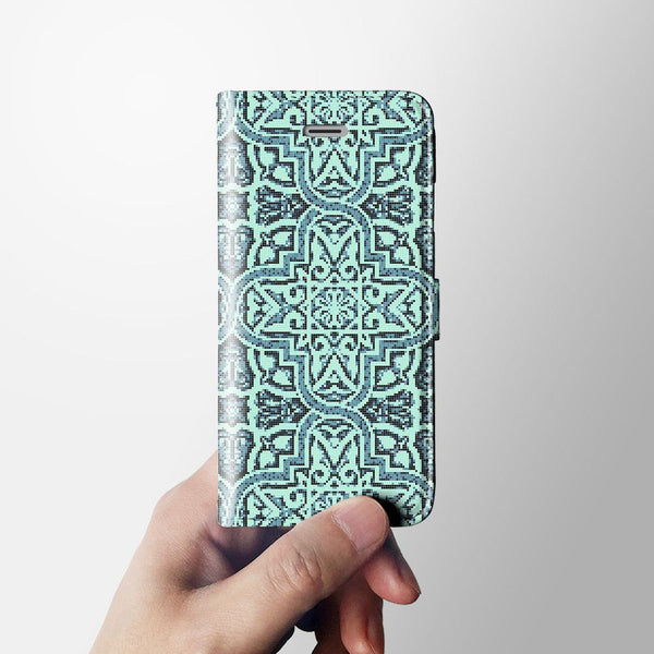 Moroccan iPhone 7 wallet case W032 - Decouart