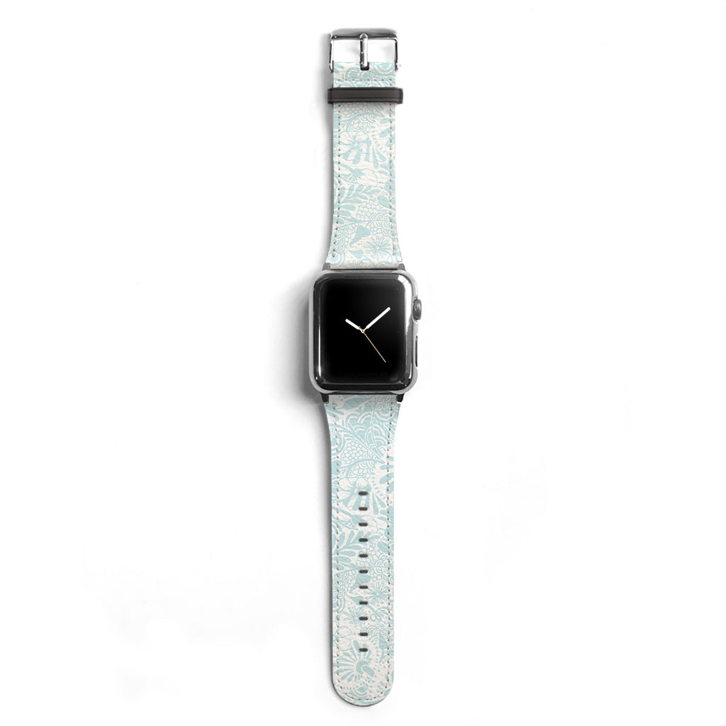 Floral Designer Apple watch band S036 - Decouart