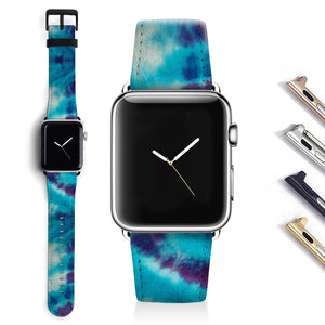 Tie-dyed Designer Apple watch band S037