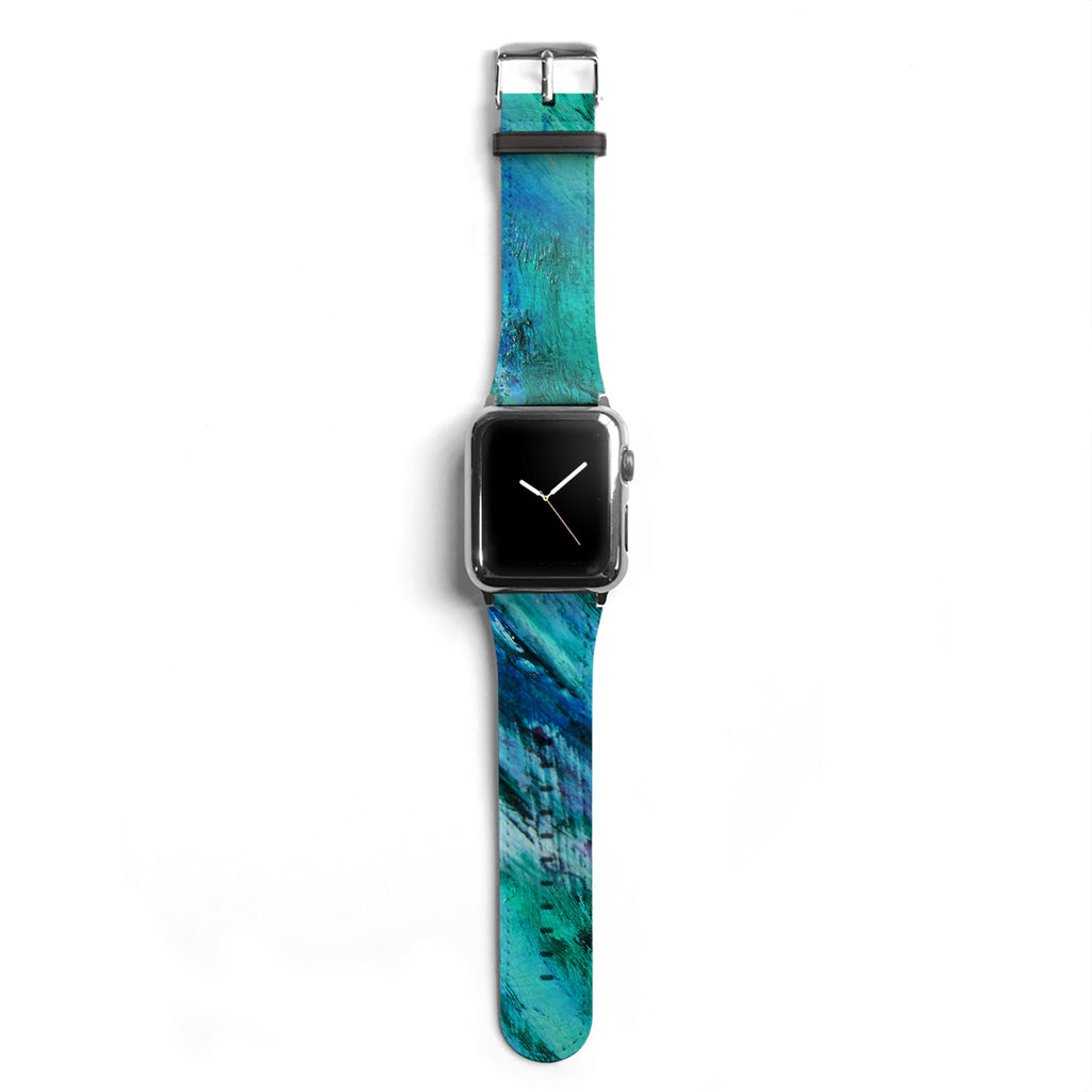 Abstract Designer Apple watch band S040 - Decouart