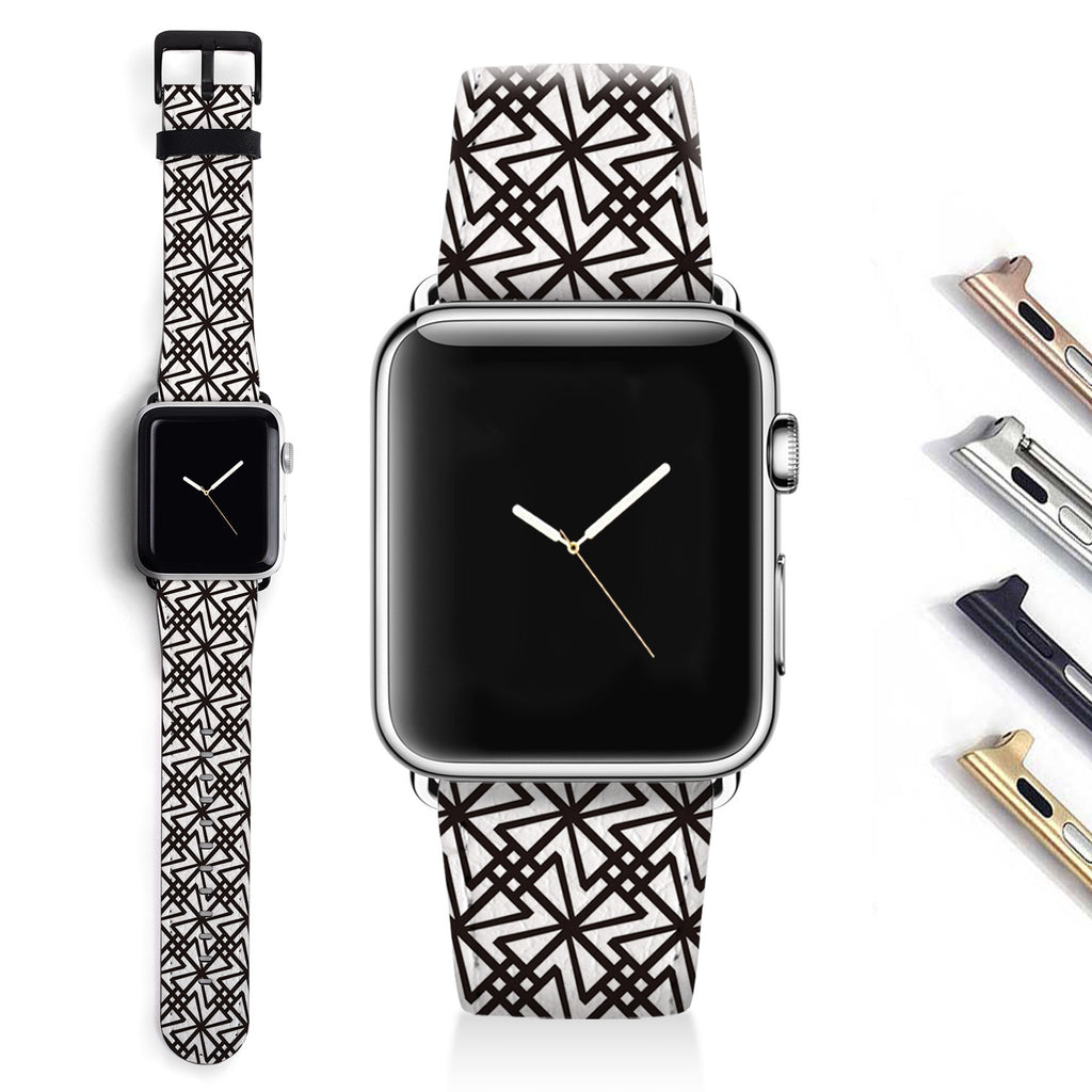 Geometric Designer Apple watch band S043