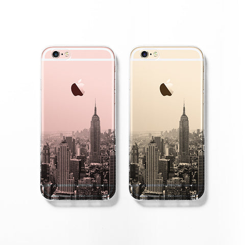 New York skyline iPhone 7 case C056 - Decouart - 1