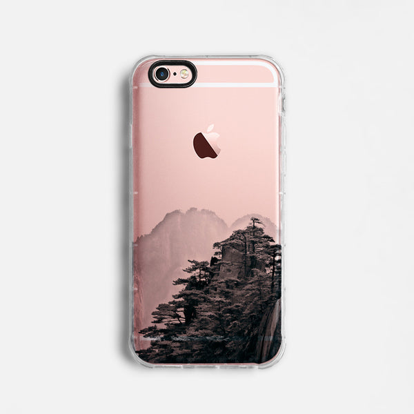 Mountain landscape skyline iPhone 7 case C058