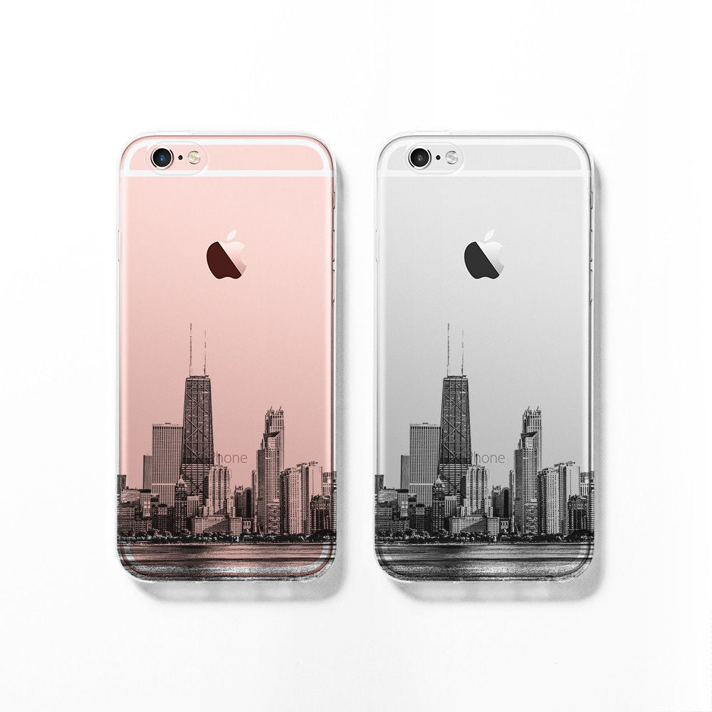 Chicago skyline iPhone 11 case C060 - Decouart