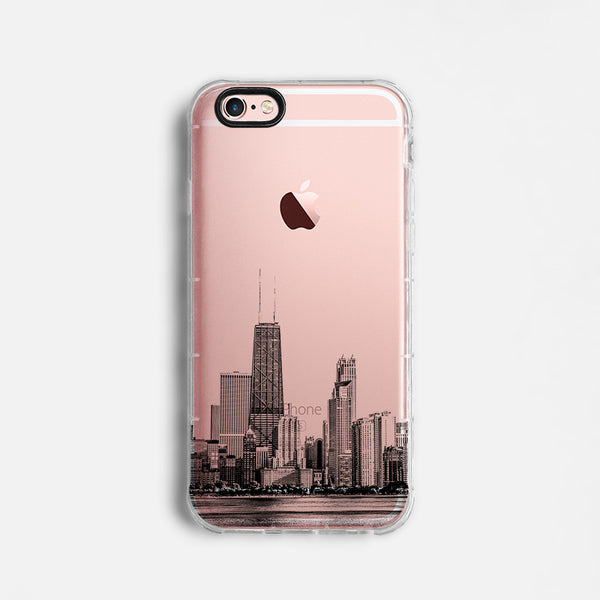 Chicago skyline iPhone 7 case C060