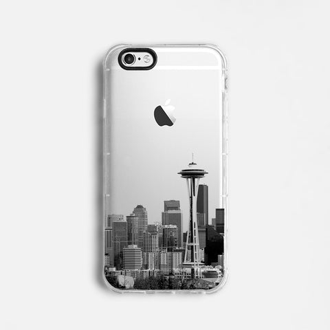 Seattle skyline iPhone 7 case C061