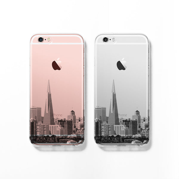 San Francisco skyline iPhone 7 case C063 - Decouart - 1
