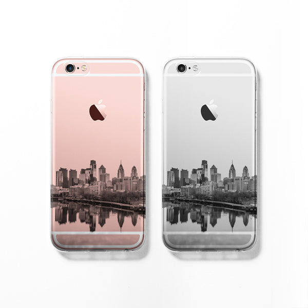 Philadelphia skyline iPhone 7 case C065 - Decouart - 1