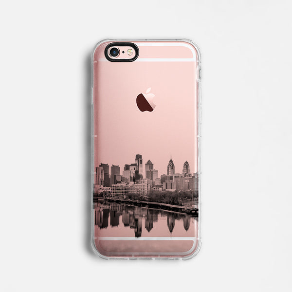 Philadelphia skyline iPhone 7 case C065