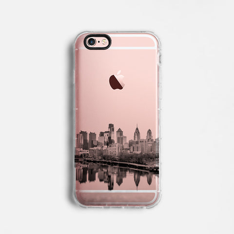 Philadelphia skyline iPhone case C065