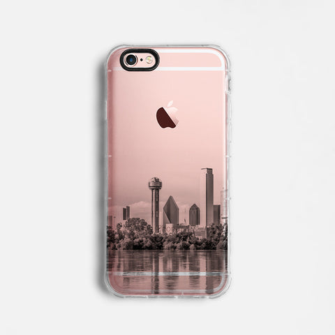 Dallas skyline iPhone 7 case C068