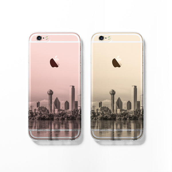 Dallas skyline iPhone 7 case C068 - Decouart - 1