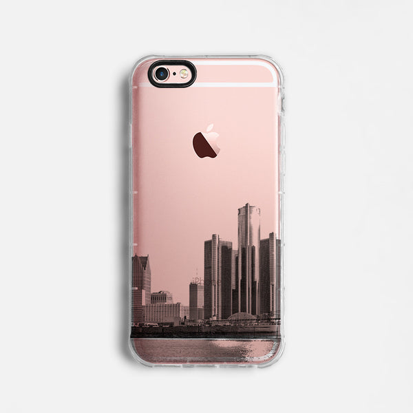 Detroit skyline iPhone 7 case C070