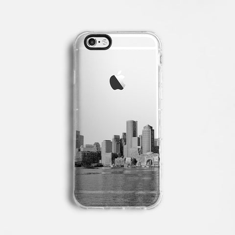 Boston skyline iPhone 7 case C071