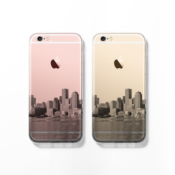 Boston skyline iPhone 7 case C071 - Decouart - 1