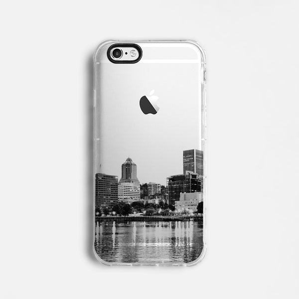 Portland skyline iPhone 7 case C072
