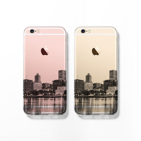 Portland skyline iPhone 7 case C072 - Decouart