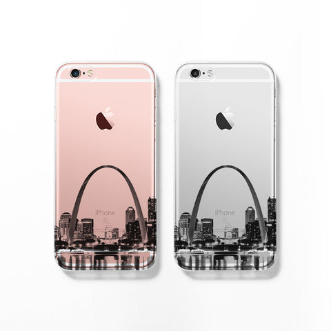 St Louis skyline iPhone 7 case C074 - Decouart