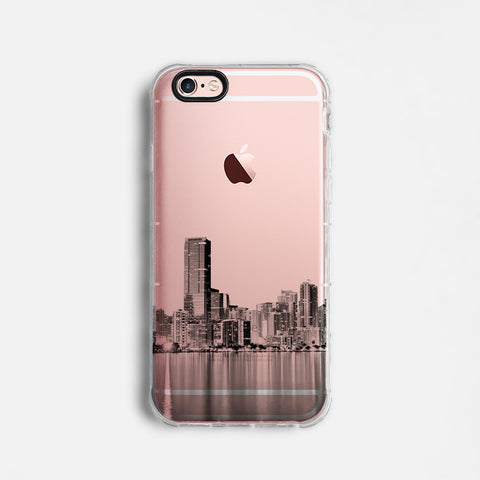 Miami skyline iPhone 7 case C075