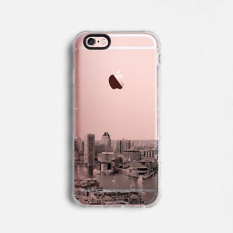 Baltimore skyline iPhone 7 case C076
