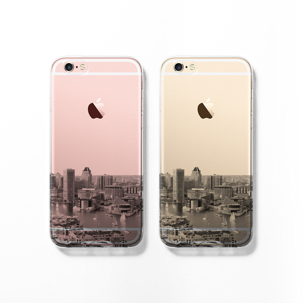 Baltimore skyline iPhone 11 case C076 - Decouart