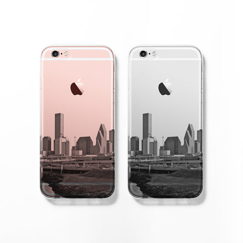 Houston skyline iPhone 7 case C077 - Decouart