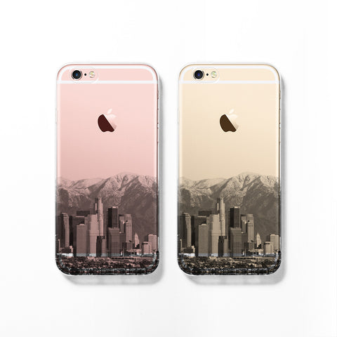 Phoenix skyline iPhone 7 case C078 - Decouart