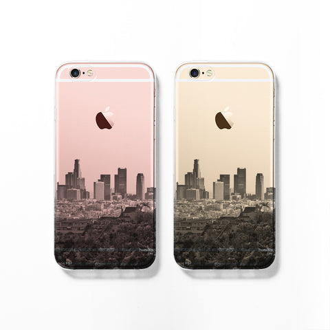 Los Angeles skyline iPhone 7 case C081 - Decouart