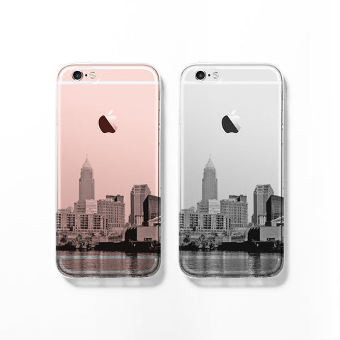 Cleveland skyline iPhone 7 case C082 - Decouart