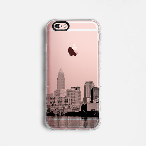 Cleveland skyline iPhone 7 case C082
