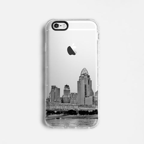 Cincinnati skyline iPhone 7 case C084 - Decouart