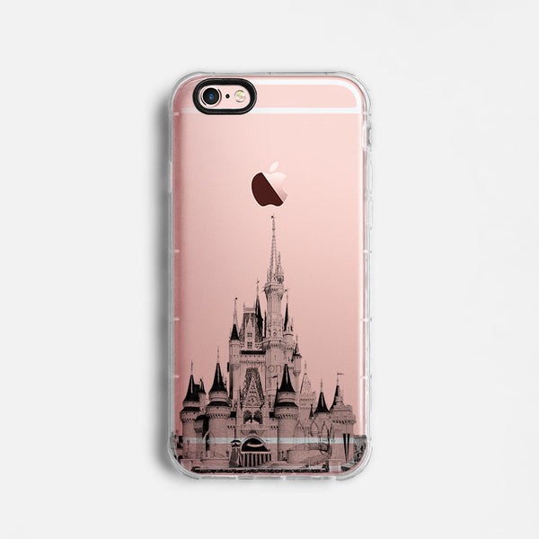 Disney castle skyline iPhone 7 case C085