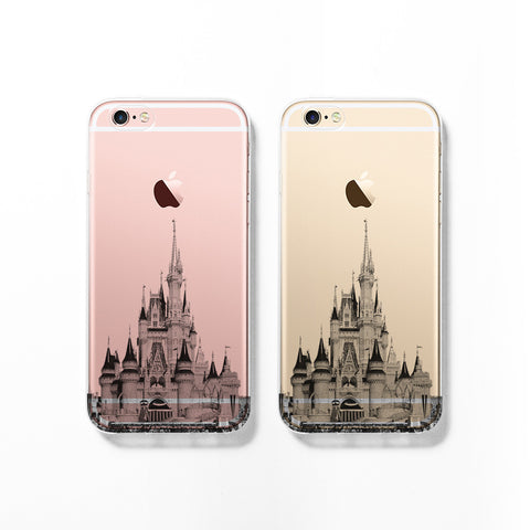 Disney castle skyline iPhone 7 case C085 - Decouart