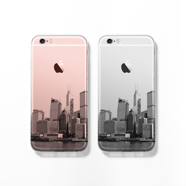 Hong Kong skyline iPhone 7 case C089 - Decouart - 1