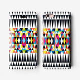 Geometric iPhone wallet case W092 - Decouart