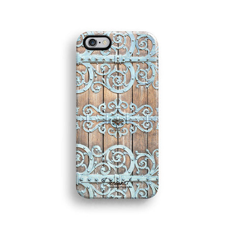 Tiffany floral door texture iPhone 6 case, iPhone 6 plus case S135 - Decouart - 1